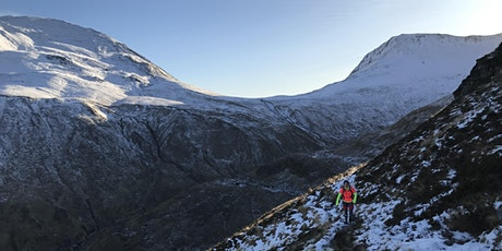 Winter Trail Running - skills and safety tickets
