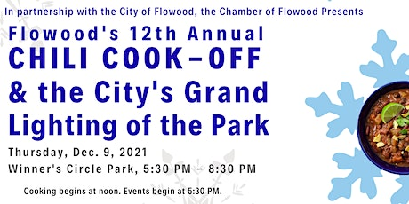 12th Annual Chili Cook-Off & Grand Lighting of the Park tickets