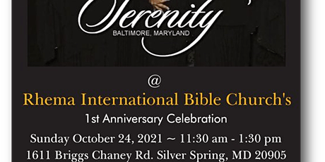Rhema International Bible Church's 1st Anniversary Celebration tickets