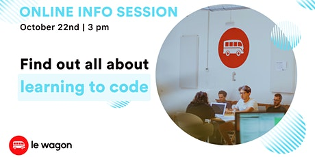Le Wagon (Coding Bootcamp): Online Information Session entradas