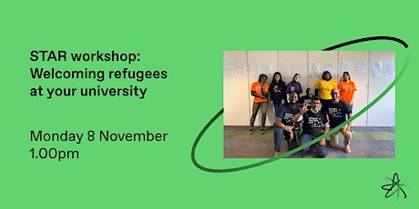 STAR workshop: Welcoming refugees at your university tickets