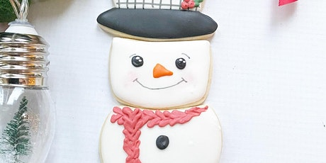 Winter Snowman Cookie Decorating Class tickets