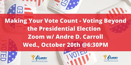 Making Your Vote Count - Voting Beyond the Presidential Election tickets