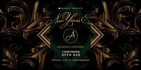 Ainsworth Midtown New Years Eve 2022 Party tickets