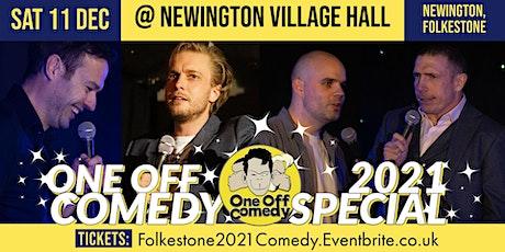 One Off Comedy 2021 Special @ Newington VH - Folkestone! tickets