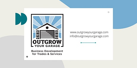 Business Co-working with Outgrow Your Garage Tickets