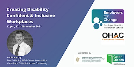 Creating Disability Confident & Inclusive Workplaces tickets