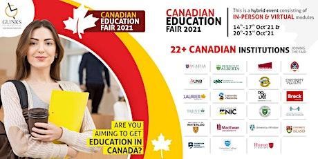 Study In Canada Fair tickets