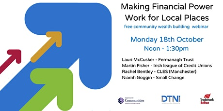 Making Financial Power Work for Local Places tickets