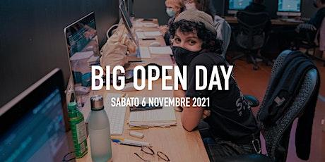 Big Open Day Novembre 2021 biglietti