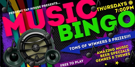 Thursday Music Bingo at Percent Tap House tickets
