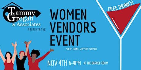 Tammy Grogan and Associates Women Vendors Event tickets