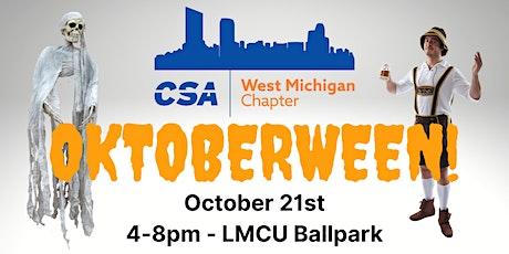 CSA West Michigan - Oktoberween 2021 tickets
