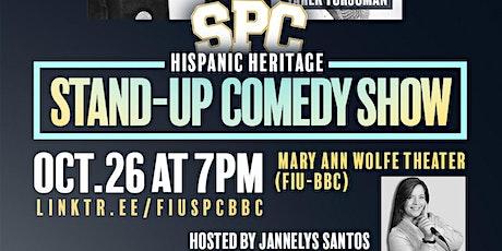 SPC-BBC Hispanic Heritage Stand-Up Comedy Show tickets