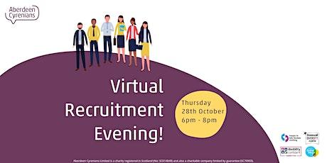 Aberdeen Cyrenians Recruitment Evening tickets