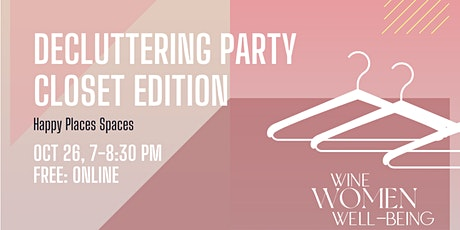 Airdrie: Decluttering party - Closet edition !! tickets