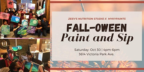 Falloween Paint and Sip tickets