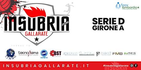 Serie D - TECNOMAMA INSUBRIA GALLARATE vs GORLA VOLLEY PG biglietti
