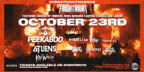 Fright Night Massive tickets
