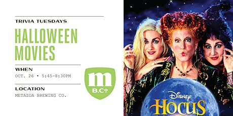 Halloween Movie Trivia tickets