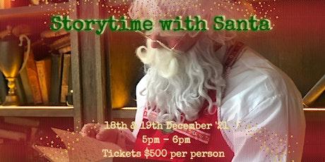 Storytime with Santa billets