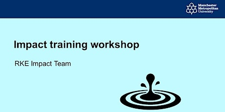 Introduction to Impact training tickets