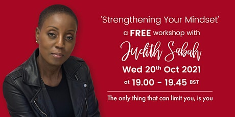 Strengthening Your Mindset tickets