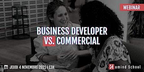 Business Developer VS Commercial biglietti
