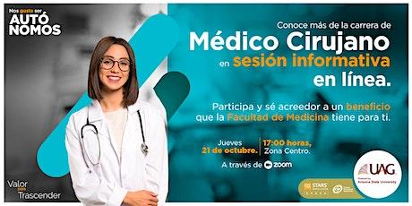 Sesión informativa- Médico Cirujano entradas