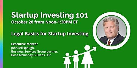 VIRTUAL Startup Investing 101 with John Millspaugh Tickets