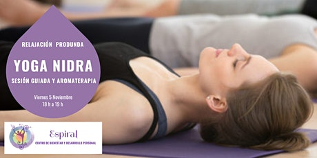 Sesión relajación profunda de Yoga Nidra entradas