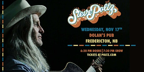 Steve Poltz LIVE in Fredericton! tickets
