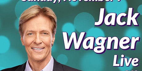 Jack Wagner- LIVE on Zoom tickets
