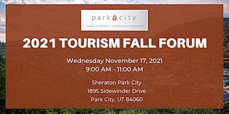 2021 Tourism Fall Forum tickets