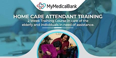MyMedicalBank HomeCare Attendant Training ( October Edition) tickets