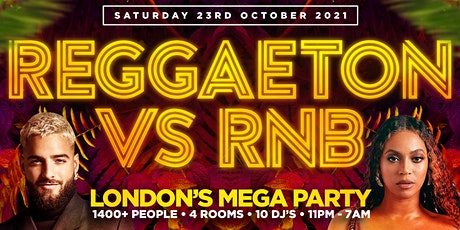 REGGAETON VS RNB  - LONDON'S MEGA LATIN PARTY  @ LIGHTBOX & FIRE CLUBS tickets
