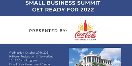 """Small Business Summit  """"Get Ready for 2022"""" tickets"""