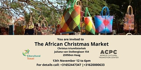 AFRICAN CHRISTMAS MARKET tickets