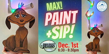 Max! Paint + Sip at Blue Monkey Brewing! tickets
