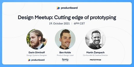 Design Meetup: Cutting edge of prototyping tickets