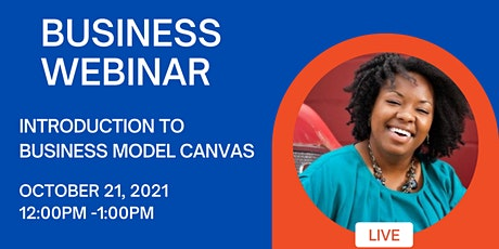 Introduction to Business Model Canvas tickets