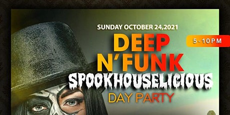 """CANVAS Dallas """"Deep N Funk"""" SpookHouselicious Day Party tickets"""