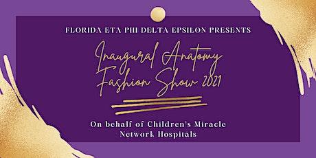 Inaugural Anatomy Fashion Show 2021 tickets