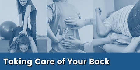 Taking Care of Your Back with Dr. Krishna Khamar, PT tickets