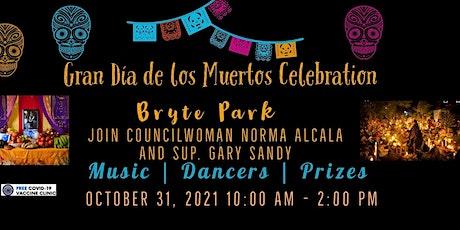 Dia de los Muertos Community Event Oct 31 Byrte Park 10am tickets