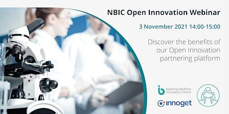 NBIC Open Innovation Webinar tickets