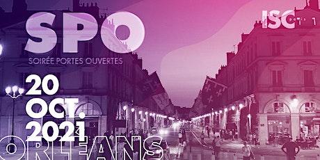 Soirée Portes Ouvertes ISC Paris Campus Orléans billets