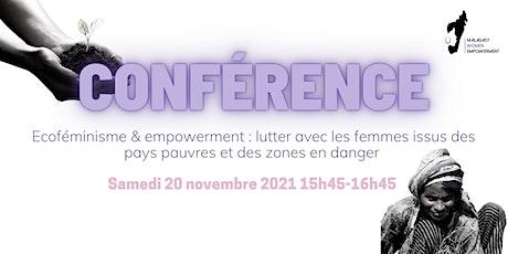 Ecoféminisme & empowerment : lutter avec les femmes issus des pays pauvres billets