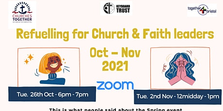 Refuelling for Church & Faith leaders tickets