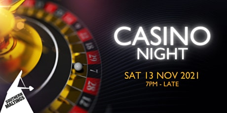 Casino, Canapés and Cocktails Evening tickets